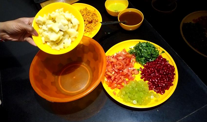 Farali Bhel Recipe| व्रत फलाहार भेल | ફરાળી ભેળ