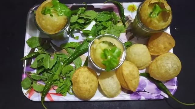How to Make Ragda Puri | ragda puri recipe