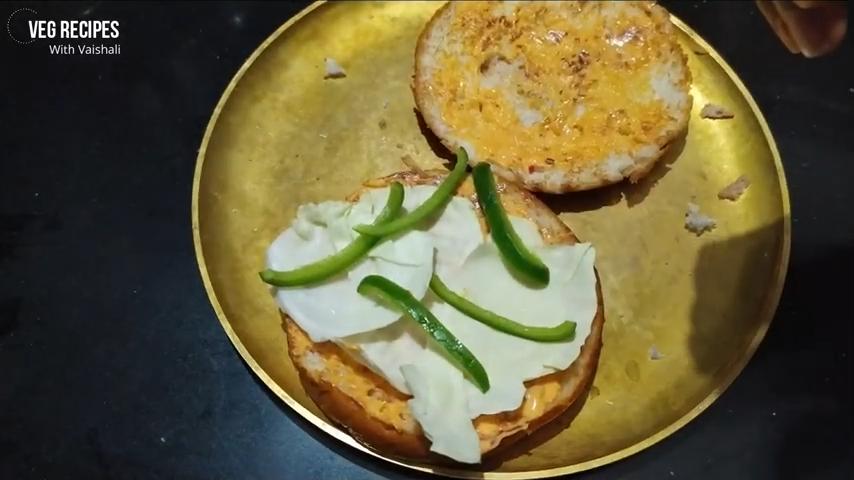 Veggie Burger Recipe | Veggie Burger Recipe Indian Style