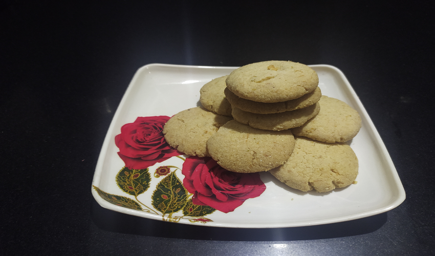 Make farali biscuits at home with farali ingredients